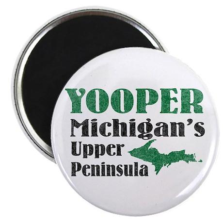 "Yooper Michigan's U.P. 2.25"" Magnet (10 pack)"