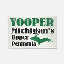 Yooper Michigan's U.P. Rectangle Magnet