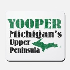 Yooper Michigan's U.P. Mousepad
