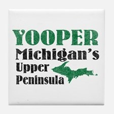 Yooper Michigan's U.P. Tile Coaster