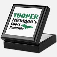 Yooper Michigan's U.P. Keepsake Box