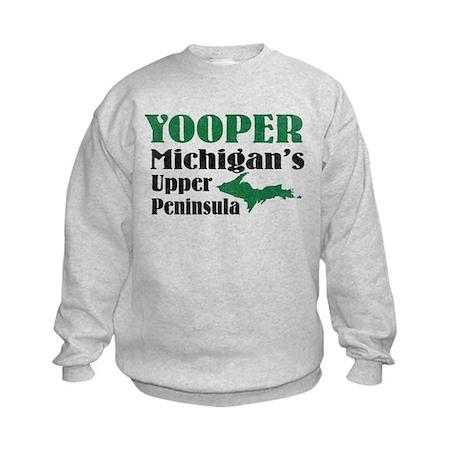Yooper Michigan's U.P. Kids Sweatshirt