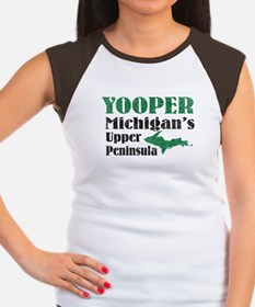 Yooper Michigan's U.P. Women's Cap Sleeve T-Shirt