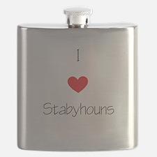 I love Stabyhouns Flask