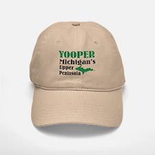 Yooper Michigan's U.P. Baseball Baseball Cap