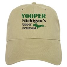 Yooper Michigan's U.P. Baseball Cap