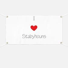 I love Stabyhouns Banner