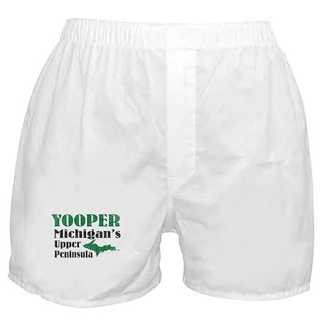 Yooper Michigan's U.P. Boxer Shorts