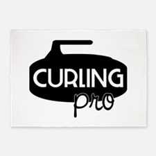 Curling Pro 5'x7'Area Rug