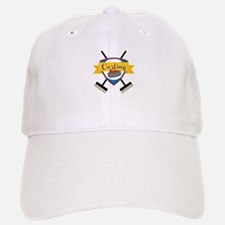 Curling Logo Baseball Baseball Baseball Cap