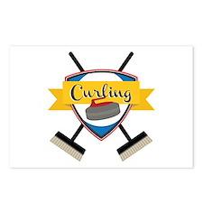 Curling Logo Postcards (Package of 8)