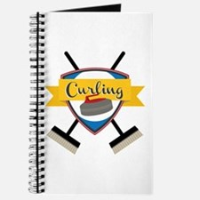 Curling Logo Journal