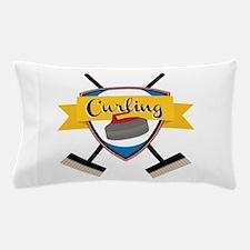 Curling Logo Pillow Case