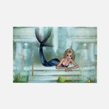 MERMAID PALACE Rectangle Magnet