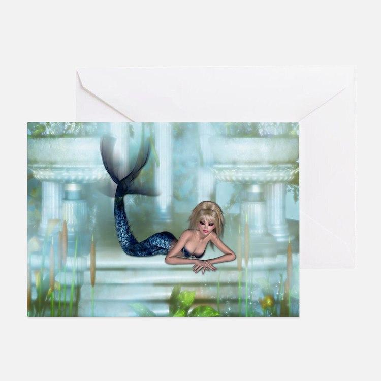 MERMAID PALACE Greeting Card
