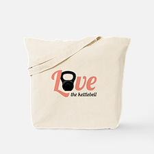 Kettlebell Love Tote Bag