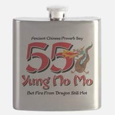 Yung No Mo 55th Birthday Flask