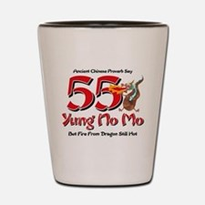Yung No Mo 55th Birthday Shot Glass