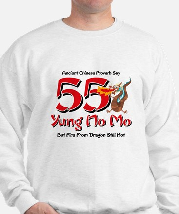 Yung No Mo 55th Birthday Sweatshirt