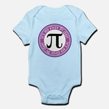 First Pi Day baby Body Suit