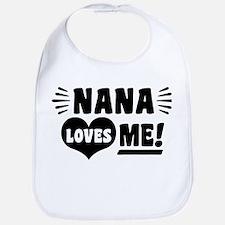 Nana Loves Me Bib