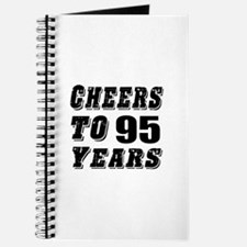 Cheers To 95 Journal