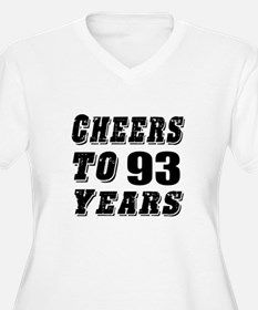 Cheers To 93 T-Shirt