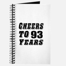 Cheers To 93 Journal