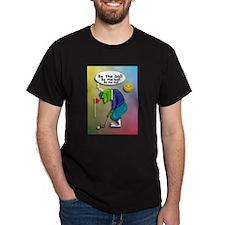 Frog Golfer - Be the Ball T-Shirt