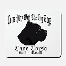 Cane Corso Big Dogs Mousepad