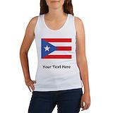 Ortiz puerto rican flag womens Women's Tank Tops