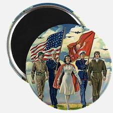 Unique Patriotic Magnet