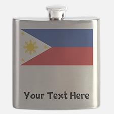 Filipino Flag Flask