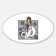 Female Doctor Decal