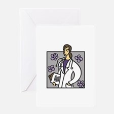 Female Doctor Greeting Cards