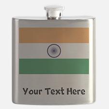 Indian Flag Flask