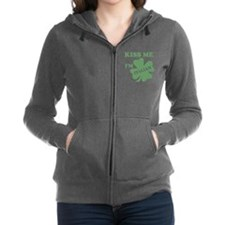 Funny St patricks day hockey Women's Zip Hoodie