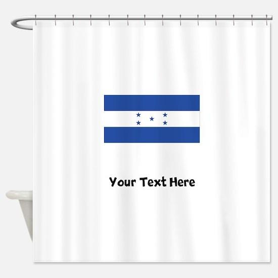Honduran Flag Shower Curtain