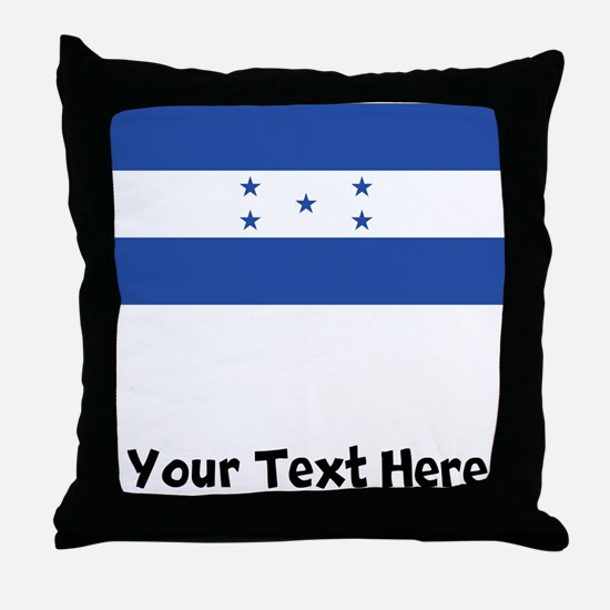 Honduran Flag Throw Pillow