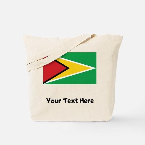 Guyanese Flag Tote Bag