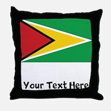 Guyanese Flag Throw Pillow