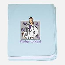 Pledge To Heal baby blanket