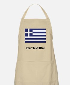 Greek Flag Apron