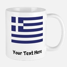 Greek Flag Mugs
