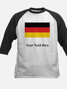 German Flag Baseball Jersey