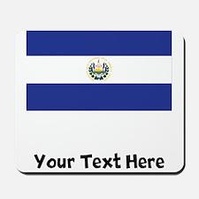 El Salvadorian Flag Mousepad