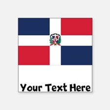 Dominican Flag Sticker