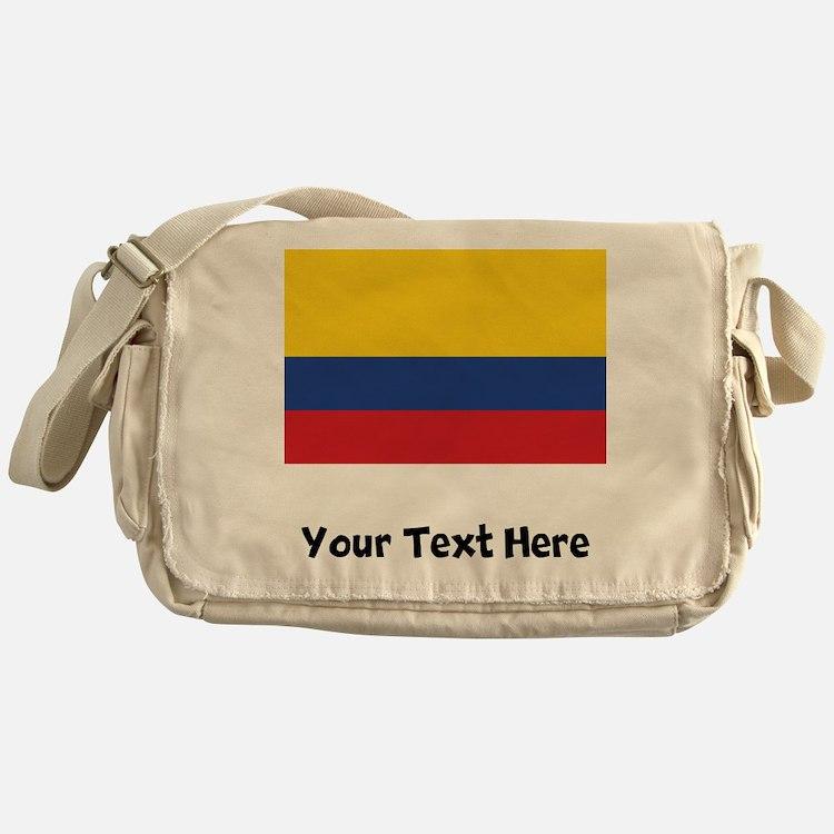 Colombian Flag Messenger Bag