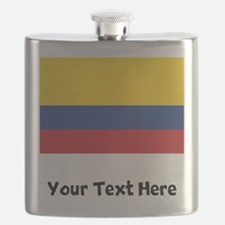 Colombian Flag Flask