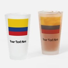 Colombian Flag Drinking Glass